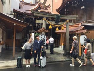 東京・小網神社で小銭を洗ってきました。金運アップと強運厄除!【経営者御用達の金運神社】の写真