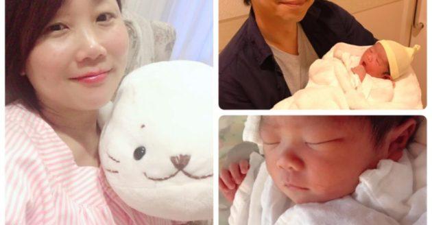先日5/29無事に女の子を出産しました。の写真