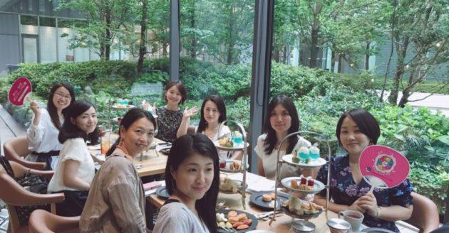 名古屋でランチ会・お茶会を開催致しました。の写真